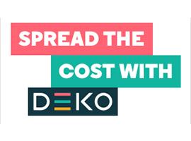 Get finance with Deko